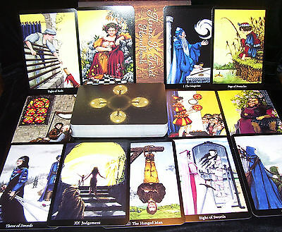 Brand New! Anna K Tarot Card & Book Oracle Unmask Your Fears Opened For Photos