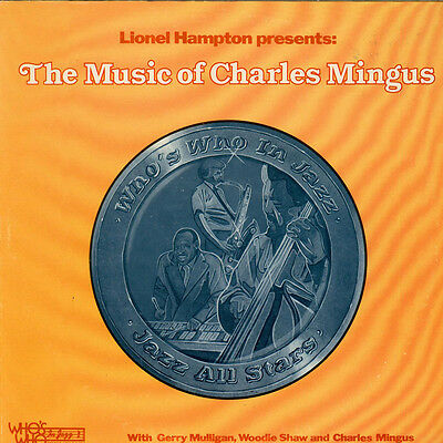 Lionel Hampton - The Music Of Charles Mingus (Vinyl LP - 1977 - US - Original)