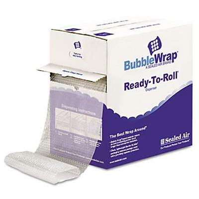 Sealed Air 90065 Bubble Wrap. Cushion Bubble Roll, .5 in. Thick, 12 in. x 65ft