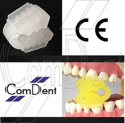 Split Type Mouth Support Mouth Prob Bite Block Autoclavable Box of 6 Child/Adult