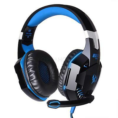 New EACH G2000 Super Bass Gaming LED Headphone Headset with Mic for Pro Gamer FR