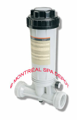 """Pool systems-LIFE-In Line CHLORINATOR dispenser MDI300 1.5""""fpt & 2""""mpt size"""