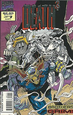 Marvel Death3 comic issue 1