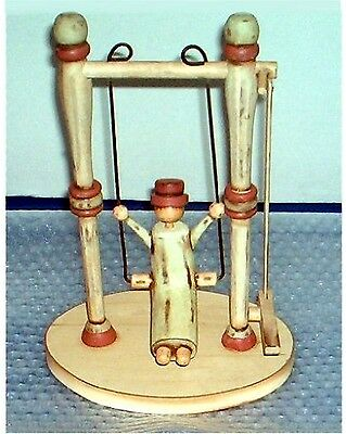 Antique Wooden Toy Swing