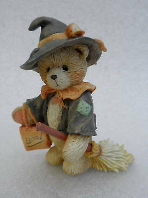 Cherished Teddies Figurine 1993 Halloween Gretel Make Magic 912778 Enesco Vtg