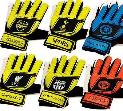 Official GoalKeeper Goalie Keeper Gloves Football Equipment Childrens Youths New
