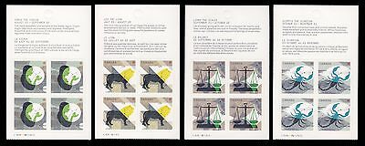 Canada 70 booklet pane of 4     MNH