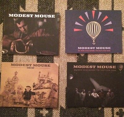 Modest Mouse Post Card Set of 4