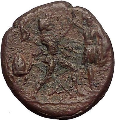 ANTIGONOS II GONATAS 277BC Pan Athena Gallic Victory Macedonia Greek Coin i57388