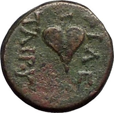 Pergamon in Asia Minor Regal Coinage 282BC Ancient Greek Coin Ivy leaf i57389