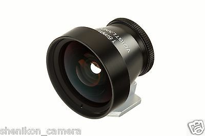 New Voigtlander 15mm View Finder Viewfinder Leica M M9 M8.2 Voigtlaender Metal