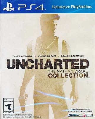 Uncharted The Nathan Drake Collection PS4 Game Brand New Sealed