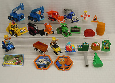Learning Curve Bob the Builder Diecast Toy Vehicle Figure Lot Learning Curve