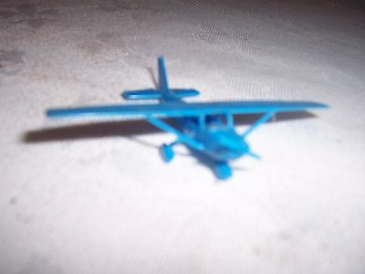 Vintage 1967 R & L Cereal Toy Blue Cessna 172 Airport Series (constructed)