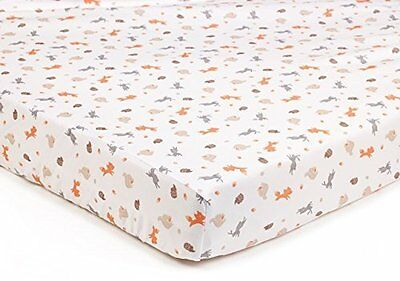 BreathableBaby Super Dry Cot Sheets In Enchanted Forest (Pack of 2)