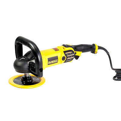 "Dewalt DWP849X 7"" 9"" Variable Speed Polisher Electronic Corded With Soft Start"