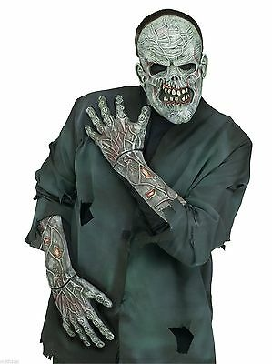 Adult Zombie Undead Gloves Hands with Arms Arm Halloween Costume Accessory NEW