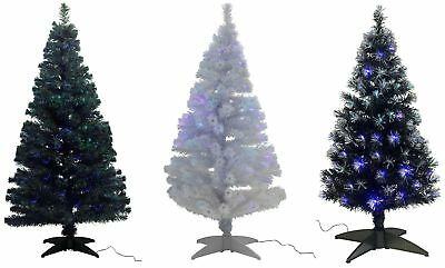 Fibre Optic Artificial Indoor Christmas Tree - Choice of Colour/Size -From Argos