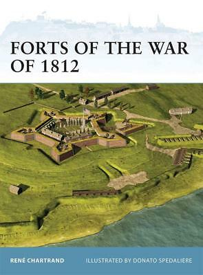 Osprey Fortress 106: Forts of the War of 1812 (USA vs. England) / NEU