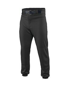 New Easton Deluxe EZ Clean Baseball Pants Adult Black / White / Gray A164003