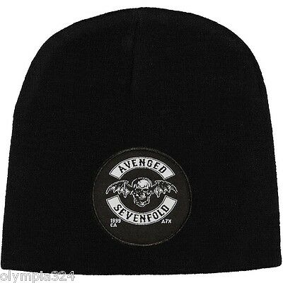 AVENGED SEVENFOLD BEANIE HAT/CAP Logo A7X Authentic Licensed NEW