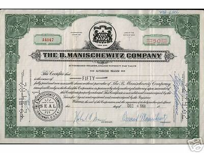 EXTREMELY RARE OLD MANISCHEWITZ STOCK w SUPERB JEWISH IMAGES!! OUR GLOBAL EXCLUS