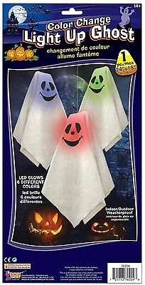 Hanging Light Up Ghost Color Changing LED Halloween Party Decoration Décor Prop