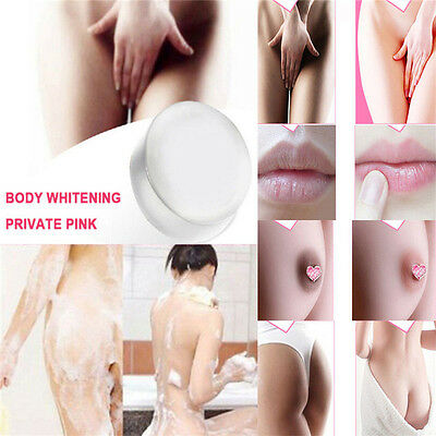 Body Nipples Intimate Private Lips Skin Bleaching Pink Whitening Crystal Soap
