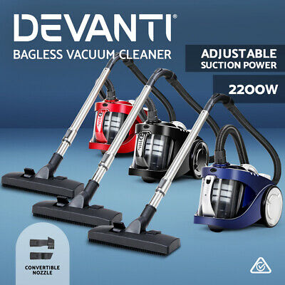 2800W Bagless Multi Cyclone Cyclonic Vacuum Cleaner HEPA Filtration System