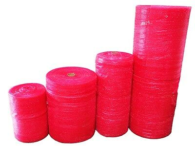 Bag It Plastics RED Bubble Wrap - 300mm 500mm 750mm ANTI STATIC PROTECTION