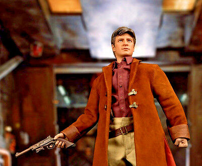Firefly Serenity QMX Malcolm Reynolds 1:6 Scale Action Figure New in Stock