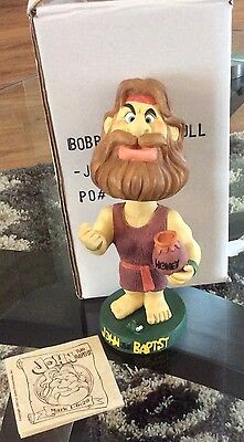 Isaac Bros. Bobble head Biblical Figurine - John The Baptist