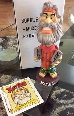 Isaac Bros. Bobble head Biblical Figurine - Moses