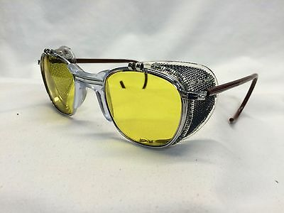 Nos Ao Glasses Metal / Shields Yellow Lens Ghostbusters Dr Holtzmann