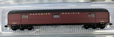 N Scale - MICRO-TRAINS 149 00 080 CANADIAN PACIFIC 70' Heavyweight Horse Car