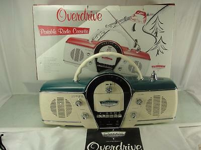 1991 Overdrive Cicena Classic Dashboard Chevy Am/fm Cassette Radio With Box