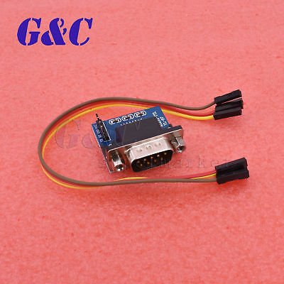 MAX3232 RS232 Serial Port To TTL Converter Module Male DB9 Connector COM Serial