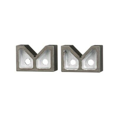 "2 X 1-5/8 X 1-3/8"" Cast Iron V Block Set (3402-1000)"