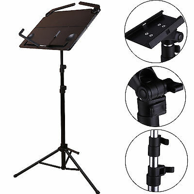 Profassional Folding Adjustable Music Sheet Stand Holder Black Portable STAND