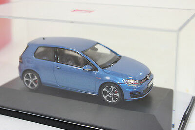 Herpa 070775  VW Golf VII GTI, pacific blue metallic   1:43 NEU in OVP