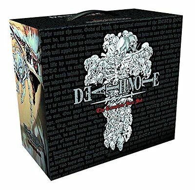 Death Note The Complete Collection Books Box Set Vol 1-13 Tsugumi Obata Takeshi
