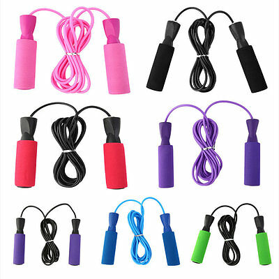 Skipping Jump Rope For Testing Aerobic Exerciseing Fitness Adjustable Bearing DS