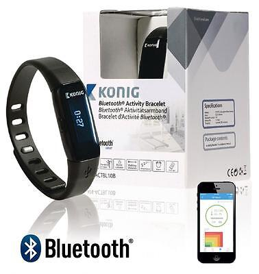 Konig Bluetooth 4.0 Wrist Watch Activity Sleep Fitness Tracker Steps Bracelet