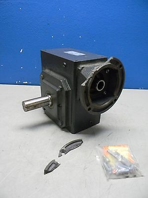 Morse Raider 60:1 Left Output Right Angle Worm Gear Reducer 325Q140L60