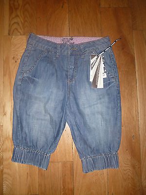 Protest Girls Denim 3/4 Length trousers - size 152 - 11/12years new with tags