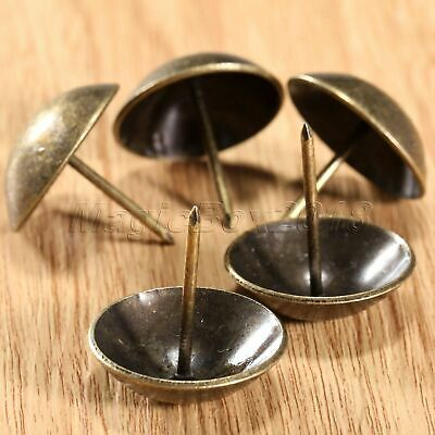 30mm Antique Brass Upholstery Nail Jewelry Gift Box Furniture Decorative Tack