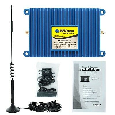Wilson Mobile 3G+50dB Cell Phone Signal Booster Amplifier Kit - 460102