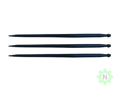 "Bale Spears 3 x 39"" Hay Tine Silage Spike Tines Spears C-2 3000#"