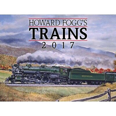 Howard Fogg's Trains Wall Calendar