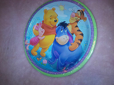 Winnie the Pooh Birthday Party Set of 6 Items All New Hats, plates, cups